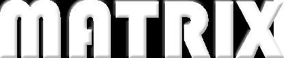 matrix logo white